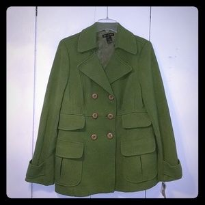 I.N.C. Green knit jacket
